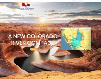 Las Vegas Water Defender Website